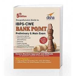 Comprehensive Guide to IBPS-CWE Bank PO/ MT Prelim + Main Exam by Disha Experts Book-9789385846991