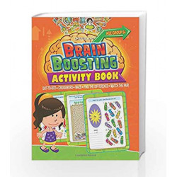 Brain Boosting Activity Book: Match the Pair, Find the Difference, Maze, Crossword, Dot to Dot  (5+ Yrs)
