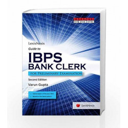Guide To Ibps Bank Clerk (For Preliminary Examination) by Varun Gupta Book 9789350357613