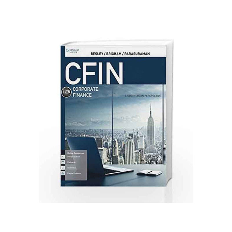 CFIN A South-Asian Perspective with Course Mate by Scott Besley Book-9788131531358
