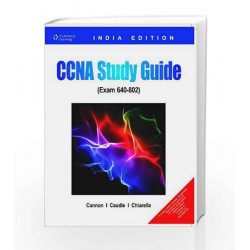 CCNA Study Guide (Exam 640-802) by Kelly Cannon Book-9788131510285