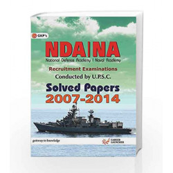 NDA - NA Solved Paper 2007-2014 by GKP Book-9789351444275
