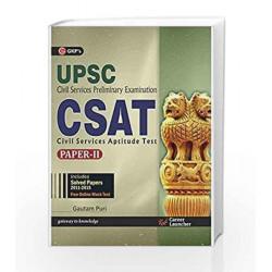UPSC CSAT Civil Service Preliminary Exam UPSC Paper - II: Gautam Puri by GKP Book-9789351447955