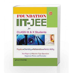 Foundation IIT - JEE for Class 9th & 10th by GKP Book-9789351442561