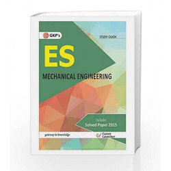 UPSC ES Mechanical Engineering: Guide - 2016 by GKP Book-9789351446712