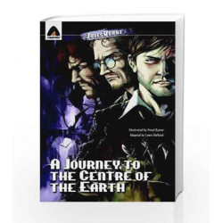 A Journey to the Center of the Earth: The Graphic Novel (Campfire Graphic Novels) by Lewis Helfand Book-9789380028408