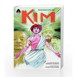 Kim: The Graphic Novel (Campfire Graphic Novels) by Lewis Helfand Book-9789380028422