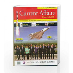 Current Affairs Made Easy: (July-August- September 2016) by MADE Book-9789351472155