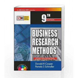 Business Research Methods: with Student CD-ROM by Donald Cooper Book-9780070620193