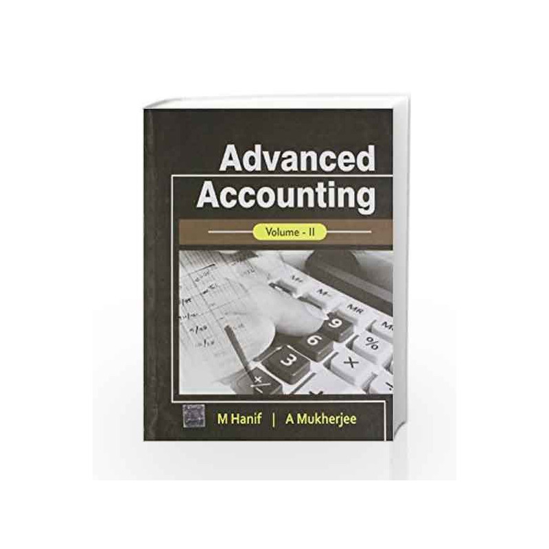 ADVANCED ACCOUNTING - VOL II by Hanif Book-9780071078085