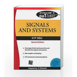 SIGNALS & SYSTEMS 2nd Edition by H Hsu Book-9780070669185