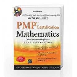McGraw-Hill's PMP Certification Mathematics with CD-ROM by SUBRAMANIAN Book-9780071068062