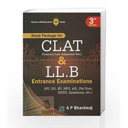 Study Package for Clat and Llb by BHARDWAJ Book-9789351340348