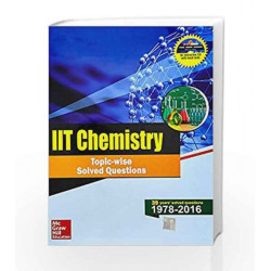IIT Chemistry Topic-Wise Solved Questions by MHE Book-9789352602353