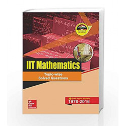 IIT Mathematics Topic-Wise Solved Questions by Ravi Prakash Book-9789352602360
