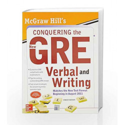 Mcgraw - Hill's Conquering the New Gre Verbal and Writing by Kathy Zahler Book-9780071331838