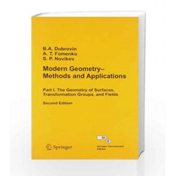 Modern Geometry Methods - Vol I by Dubrovin Book-9788184896558