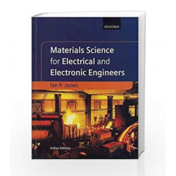 Materials Science for Electrical and Electronic Engineers by Ian Jones Book-9780195691634