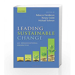 Leading Sustainable Change: An Organizational Perspective by 0 Book-9780198783725