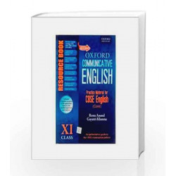 Revised Oxford Communicative English Resource Book: Class XI by RENU Book-9780198089469