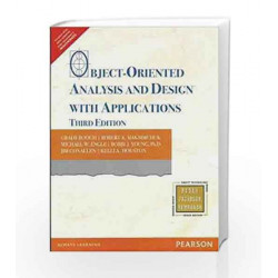 Object-Oriented Analysis and Design with Applications, 3e by Booch Book-9788131722879