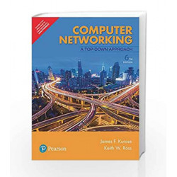 Computer Networking: A Top-Down Approach by Kurose James F. Book-9789332585492