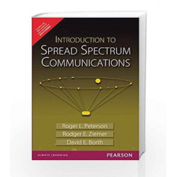 Introduction to Spread Spectrum Communications, 1e by Ziemer Book-9789332500228