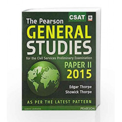 The Pearson General Studies: Paper - II 2015: Paper - 2 215 (Old Edition) by Thorpe Showick Book-9789332541337
