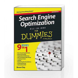 Search Engine Optimization All-In-One for Dummies, 3ed by BRUCE Book-9788126558759