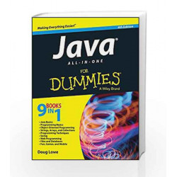 Java All-In-One for Dummies, 4ed by DOUG LOWE Book-9788126548972