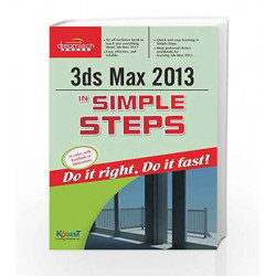 3ds Max 2013 in Simple Steps by Kogent Learning Solutions Inc. Book-9789350045985