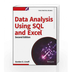 Data Analysis Using SQL and Excel, 2ed (MISL-WILEY) by Gordon S. Linoff Book-9788126559480