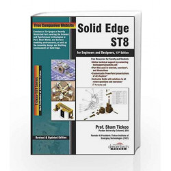 Solid Edge ST8 for Engineers and Designers, 13ed (MISL-DT) by Sham Tickoo Book-9789351199304