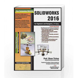 Solidworks 2016 For Engineers and Designers, 14ed (MISL-DT) by TICKOO Book-9789351199335