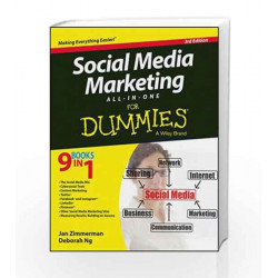 Social Media Marketing All-in-One For Dummies, 3ed by Jan Zimmerman Book-9788126560943