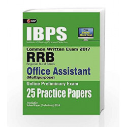 IBPS RRB-CWEOffice Assistant (Multipurpose) Preliminary 25 Practice Papers 2017 by GKP