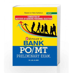 Bank PO/MT Preliminary Exam by  Book-9789385888830