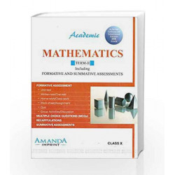 Academic Mathematics Term-II X by R. K. Bansal Book-9789380644257