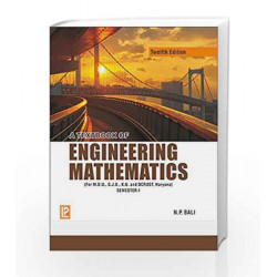 A Textbook of Engineering Mathematics (Sem-I) by N.P. Bali Book-9788131808085