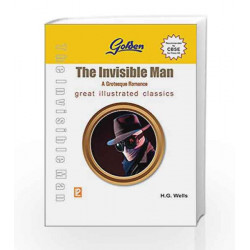 GOLDEN THE INVISIBLE MAN - XII by H.G. Wells Book-9789386202710