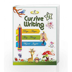 Cursive Writing - 4 by Laxmi Publications Book-9788179680131