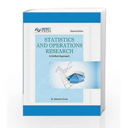 Statistics and Operations Research - A Unified Approach by Debashis Dutta Book-9789385935831
