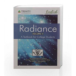 Radiance : A Textbook For College Students - Vol II by Chennai The Deptt. of JBASC Book-9789351381013