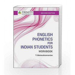 English Phonetics for Indian Students - A Workbook by T. Balasubramanian Book-9789385935176