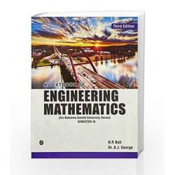 A Textbook of Engineering Mathematics - Sem III (MGU, Kerala) by N.P. Bali Book-9789380386041