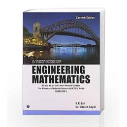 A Textbook of Engineering Mathematics - Sem I (Mahamaya Technical University, Noida) by N.P. Bali Book-9789381159477