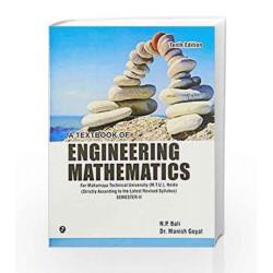 A Textbook of Engineering Mathematics - Sem II (Mahamaya Technical University, Noida) by N.P. Bali Book-9789381159552