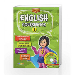 Learning Planet English Coursebook-1 by R.K.Gupta Book-9789352742240