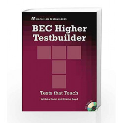 BEC Higher Testbuilder by Jake Allsop Book-9780230717039