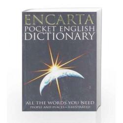 Encarta Pocket English Dictionary by Dictionaries Book-9780747560951